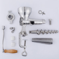 Stainless Steel Manual Fruit Juicer Machine ZF