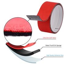 FOSHIO 100CM 3 Layers Waterproof Slim Fabric Edge for All Carbon Fiber Squeegee Vinyl Car Wrap Window Tint Scraper Protect Cloth
