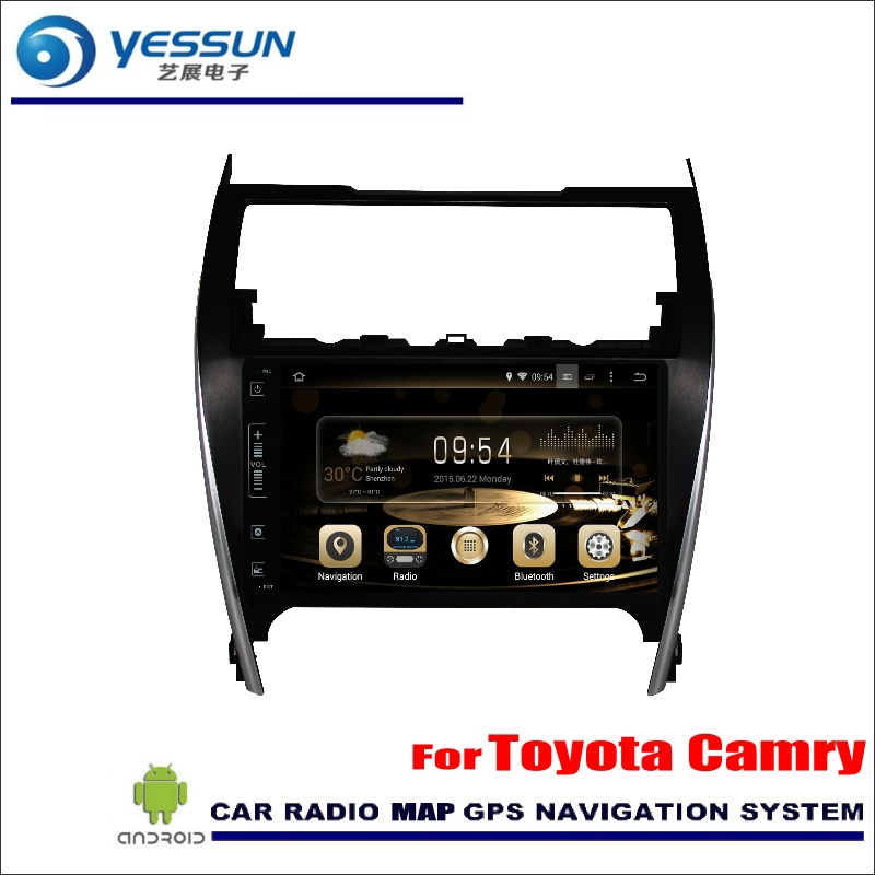 Yessun для Toyota Camry 2012 ~ 2014 Европейский автомобильного Android Радио аудио GPS игрока Нави nav Географические карты стерео Мультимедиа (без CD DVD)