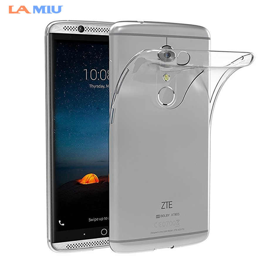 LA MIU For ZTE Axon 7 7 mini Case Soft TPU Silicone Clear Shockproof Ultra  Thin f8ac19c1757c