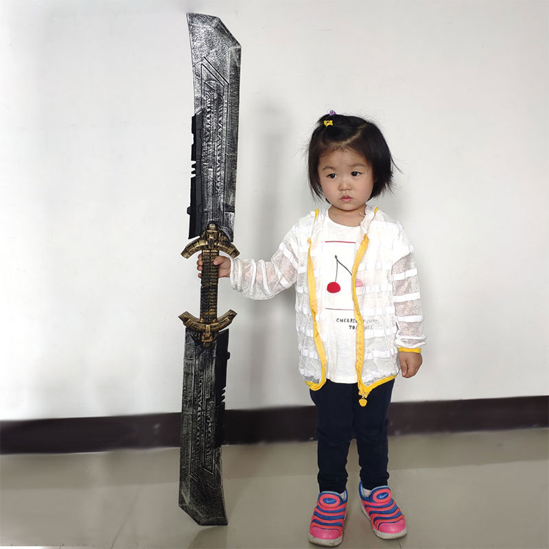 Toy Model Cosplay Funny Props Weapons Peripheral Cool Movie-Characters Pu-Double-Edged