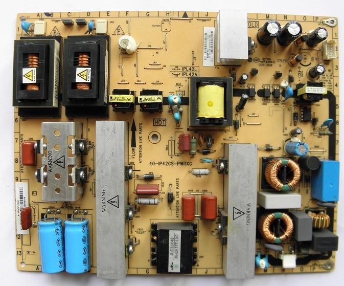 42PFL3609 42PFL5609 power panel 40-IP42CS-PWI1XG is used 42pfl9509 power panel 2300kpg109a f is used