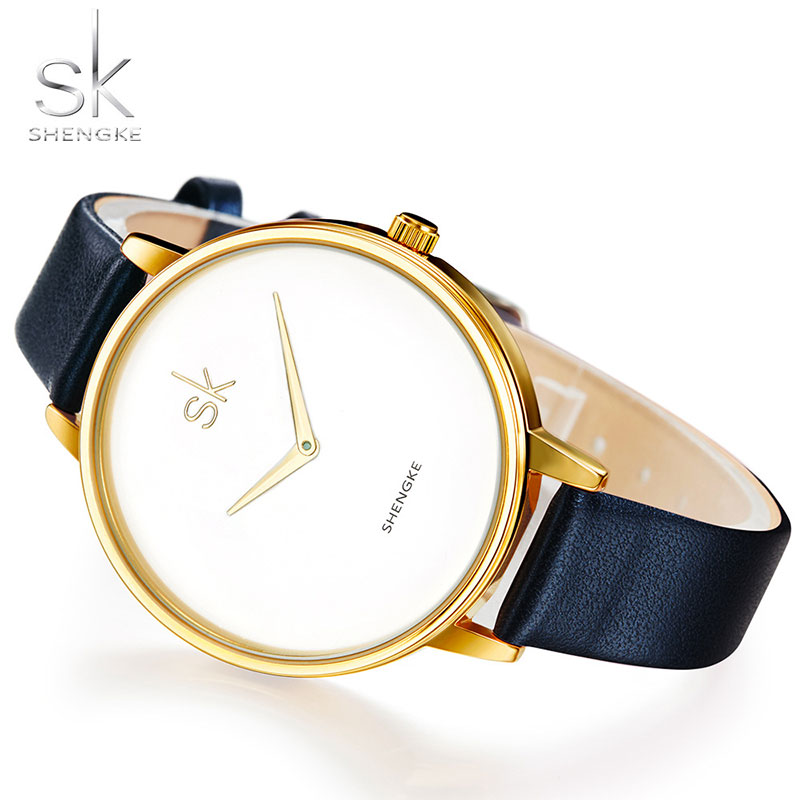 SHENGKE Fashion Wrist Watch Women Watches Ladies Top Luxury Brand Famous Quartz Watch Female Clock Montre Femme Relogio Feminino 2017 fashion simple wrist watch women watches ladies luxury brand famous quartz watch female clock relogio feminino montre femme