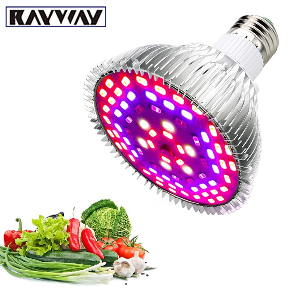 Led աճող թեթև էլեկտրական լամպ E27 5730SMD 10W 15W 25W 45W Ամբողջ սպեկտրով PhytoLamp fitolampy բույսերի ծաղիկների լամպերի ակվարիում
