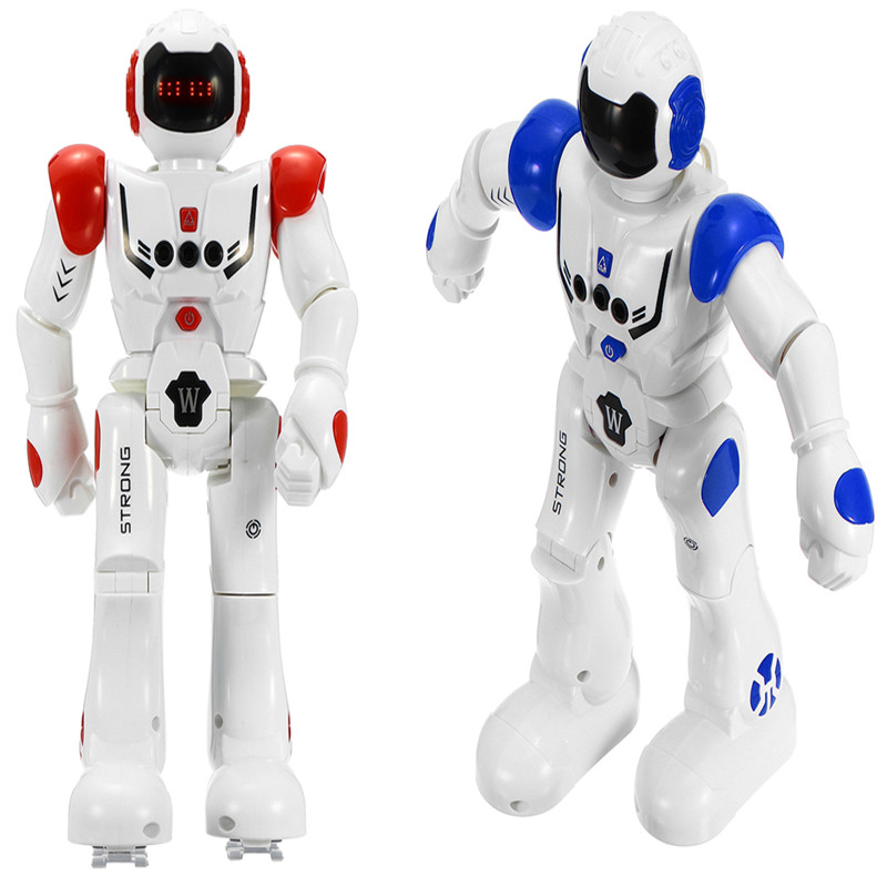 Gesture Sensor Intelligent Control Programming Dancing Walking Sing RC Robot Toy with Remote Control Kids Gifts Presents intelligent wireless remote control robot dog kids dancing walking dog