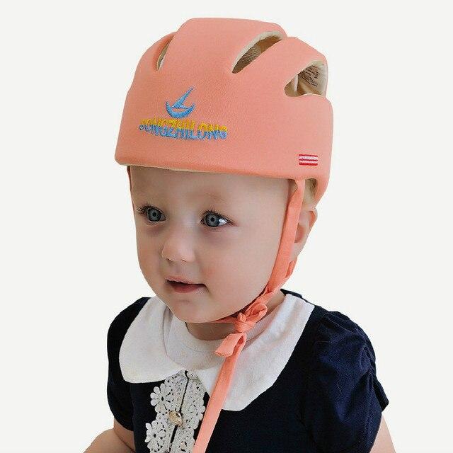 6abc9c486e573 Infantil Capacete de Proteção, Protetor de Proteção Da Cabeça Do Bebê  Primeiros sapatos de Caminhada