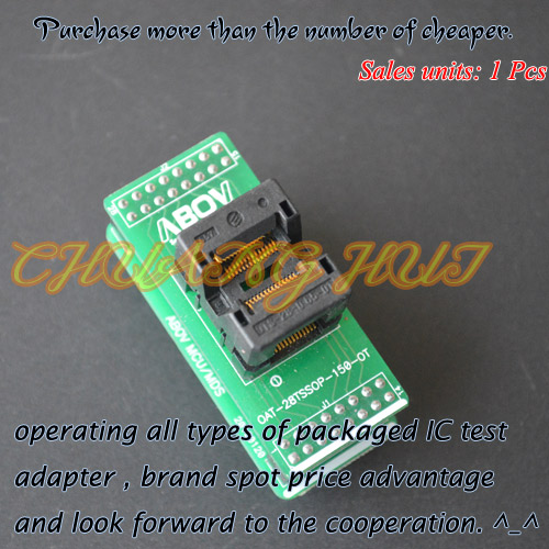 OAT-28TSSOP-150-OT Programmer adapter for ABOV Programmer adapter SSOP28 test socket svodka ot strelkova 28 06 2014 1530