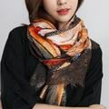 Зимой женщины Корея стиль женский хлопок печати мода новый многофункциональный длинный шарф, красивые женщины шарф