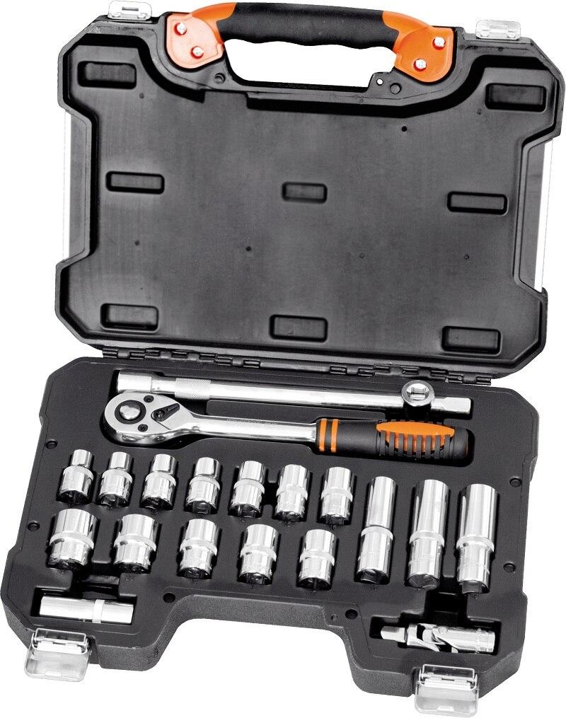 Set  tools Kraton TS-19 socket 20, 1/2 a set of tools kraton ts 05 1 2 1 4 55 pr