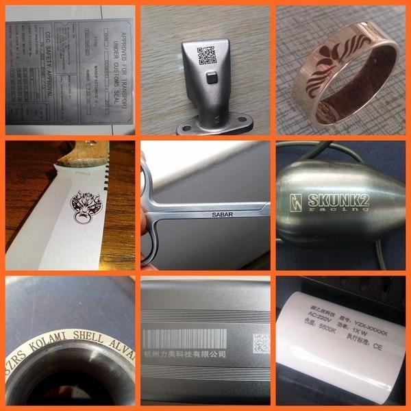 Hiina kuum müük pika tööeaga kiudlaseriga märgistusmasin 30W, - Puidutöötlemisseadmed - Foto 6