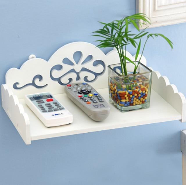 Urijk DIY TV Set top Dekorativen Wandregale Geschnitzte Holzlager ...