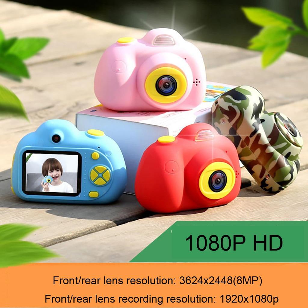 Enfants Mini caméra enfants jouets éducatifs pour enfants cadeaux d'anniversaire cadeau numérique Selfie caméra 1080P HD jouets caméra # g4