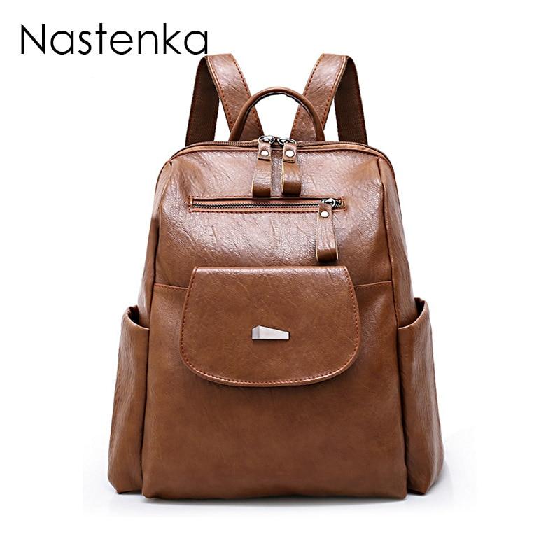 Nastenka Women School Backpack For Teenager Girls School Bag For Teenage Girls Backpacks ...