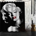 Besten Nizza Benutzerdefinierte Marilyn Monroe Duschvorhang Bad Vorhang Wasserdichtes Gewebe Für Bad MEHR GRÖßE W # @ 28