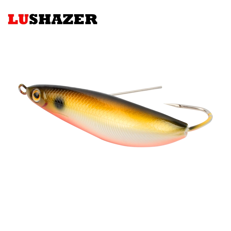LUSHAZER Fish vib 20g hard bait iscas artificiais para pesca carp lures bass fishing jerkbait spoon bait fishing tackles lushazer fishing lure minnow bait 18g hard lures carp fishing iscas artificiais 2016 wobbler crankbait cheap sea fishing tackle