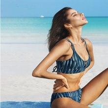 LISM ins HOT Bikini Swimsuit Sexy Women DOT Swimwear Bathing Suit Girl Swimming For Beachwear Seaside Pool Low Waist 2019