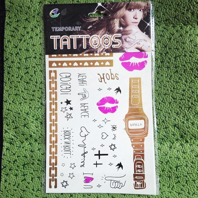 Hen Party Temporary Tattoo