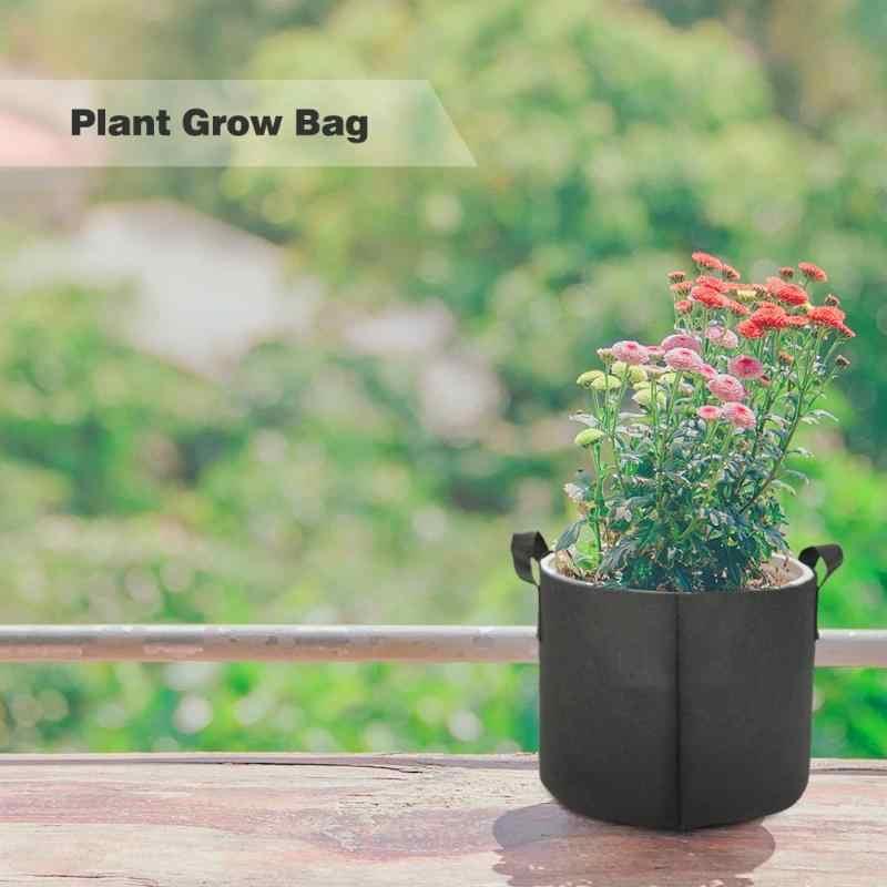 1/3/5/7/10 Gallon noir jardin plante cultiver sac légume fleur Pot planteur bricolage pomme de terre plante écologique cultiver sac