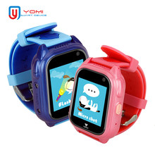 2018 Smart Kids Watch M06 IP67 Waterproof GPS Smartwatch SOS Call Voice Chat Anti-lost Location Device Tracker for Baby Girls(China)
