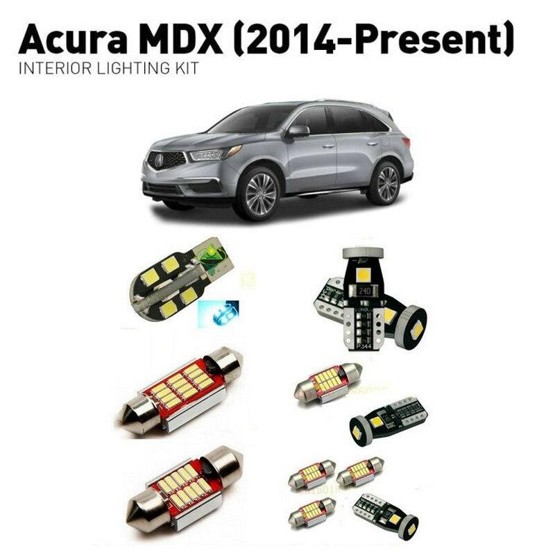 Led Interior Lights For Acura MDX 2014+ 13pc Led Lights