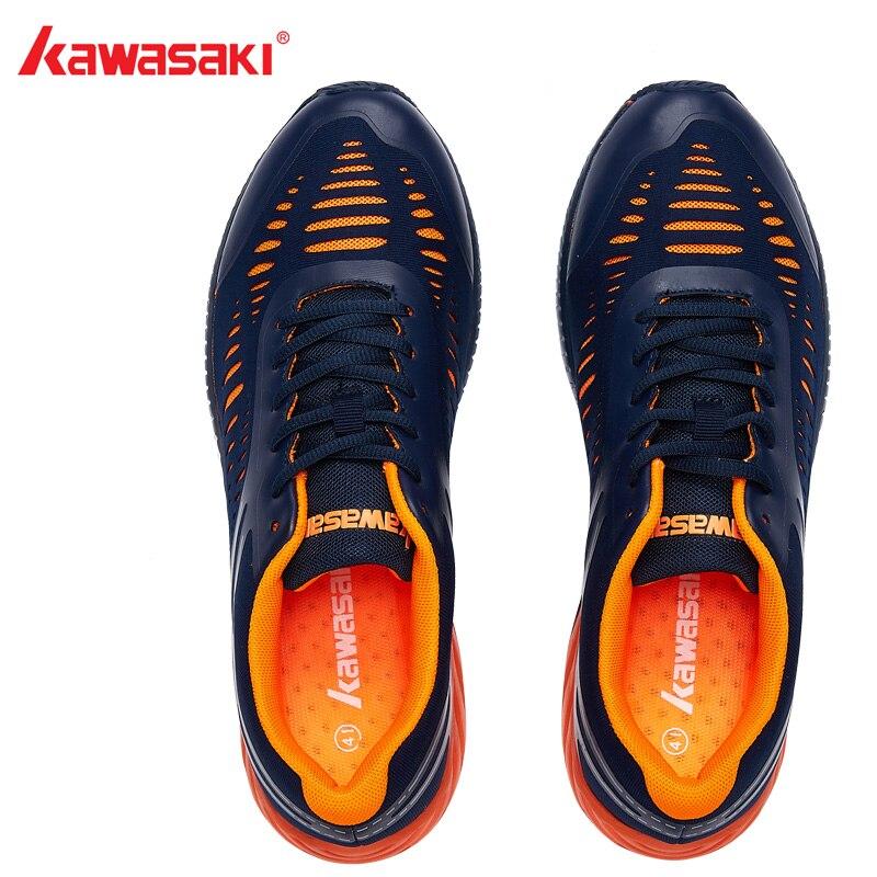 2018 оригинальная обувь для бадминтона Kawasaki для мужчин и женщин Zapatillas Deportivas противоскользящая дышащая обувь для бега K-855