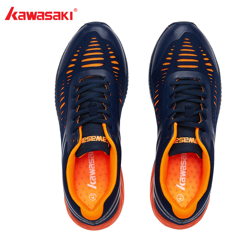 2018 Original Kawasaki Badminton Shoes Men And Women Zapatillas Deportivas Anti-Slippery Breathable Fashion Shoes K-855 2017 original kawasaki badminton shoes men and women zapatillas deportivas anti slippery breathable for lover