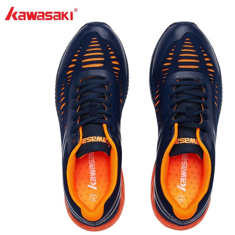 2018 chaussures de Badminton Kawasaki originales hommes et femmes Zapatillas Deportivas chaussures de Jogging respirant anti-dérapant K-855