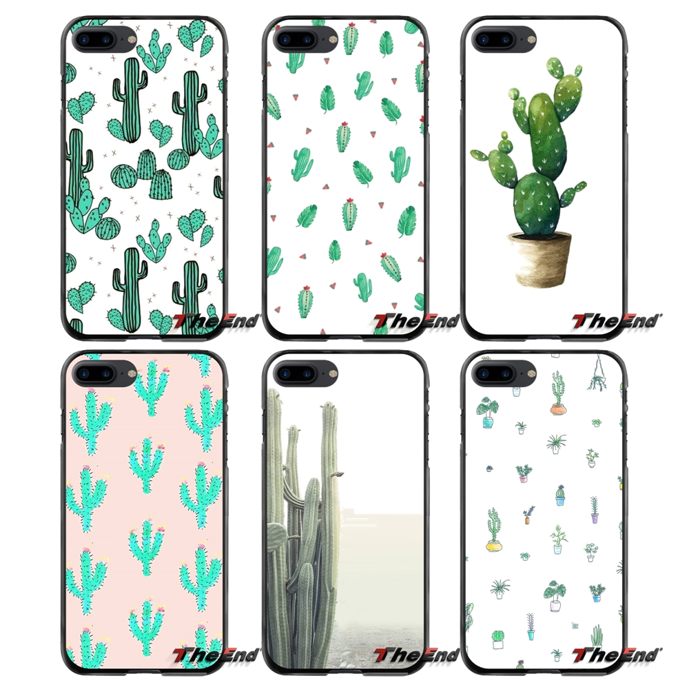 For Apple iPhone 4 4S 5 5S 5C SE 6 6S 7 8 Plus X iPod Touch 4 5 6 Accessories Phone Cases Covers Succulent Plant