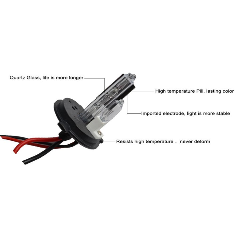 HID ksenon işıq dəsti H4, halogen lampa ilə 55W Canbus nazik - Avtomobil işıqları - Fotoqrafiya 5