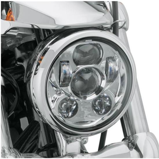 Proyecto Envío libre Harley Daymaker 5.75 pulgadas LLEVÓ el Faro 5 3/4 pulgadas Daymaker Kit de Faros LED Para Sportster