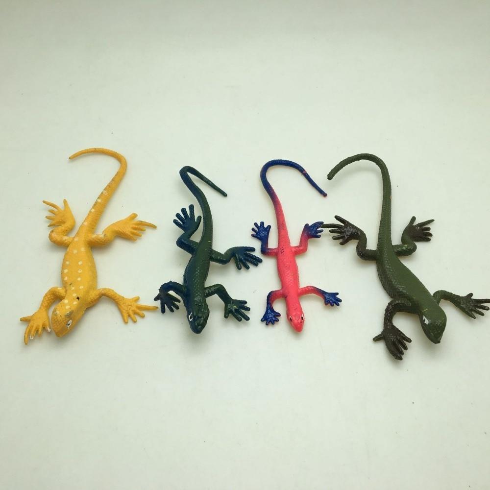 20 UNIDS / LOTE serpiente de plástico pvc lindo y gecko Mix - Nuevos juguetes y juegos - foto 4