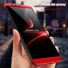 3 in 1 Matte Cover 360 Degree Protection Phone Original Hard