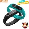 En stock! nuevo 100% original xiaomi mi banda 2 miband wistband pulsera con Pantalla OLED de Pulso Del Ritmo Cardíaco Fitness Touchpad Inteligente 1 s