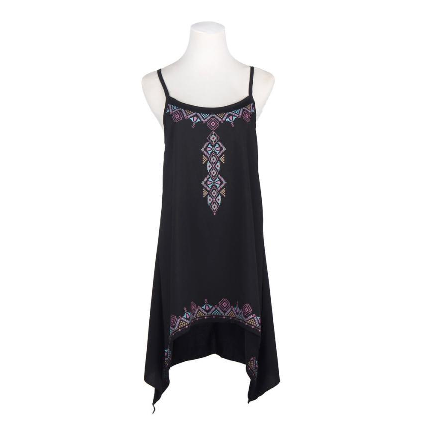 MUQGEW 2017, the new hot summer dress, sleeveless print dress, trendy, luxury cars, luxury matching styles, Dresses