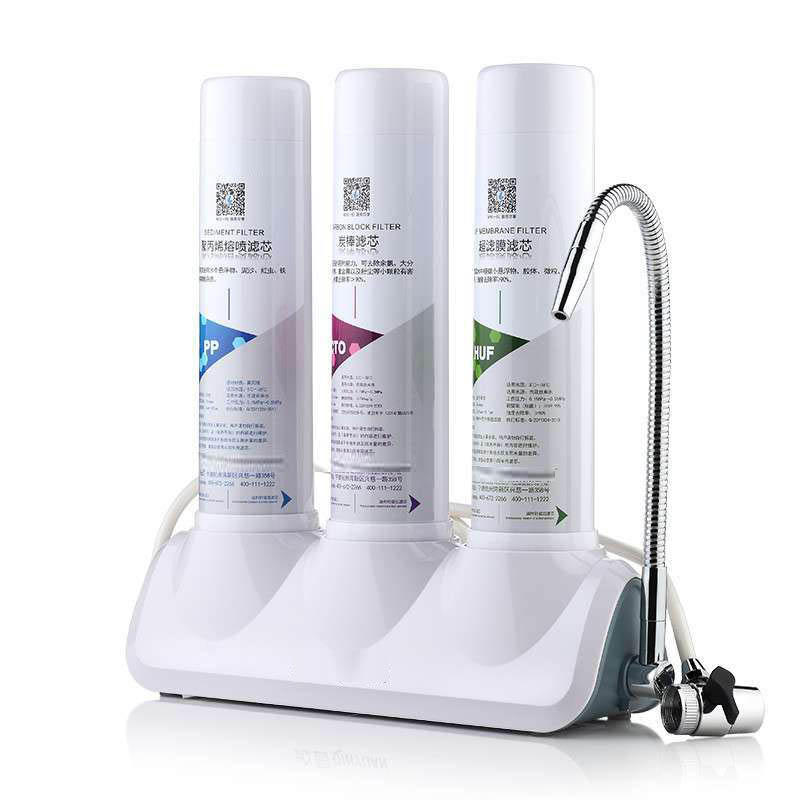 countertop water purifier ul302c pp cto huf three grades water filters