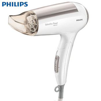 PHILIPS SalonDry Travel Hair Dryer HP4988 with Folding Design 100-240V Support Hot and Cold Wind High Power Constant Temperature 1