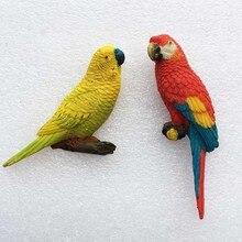 Модный дом орнамент птицы магниты на холодильник