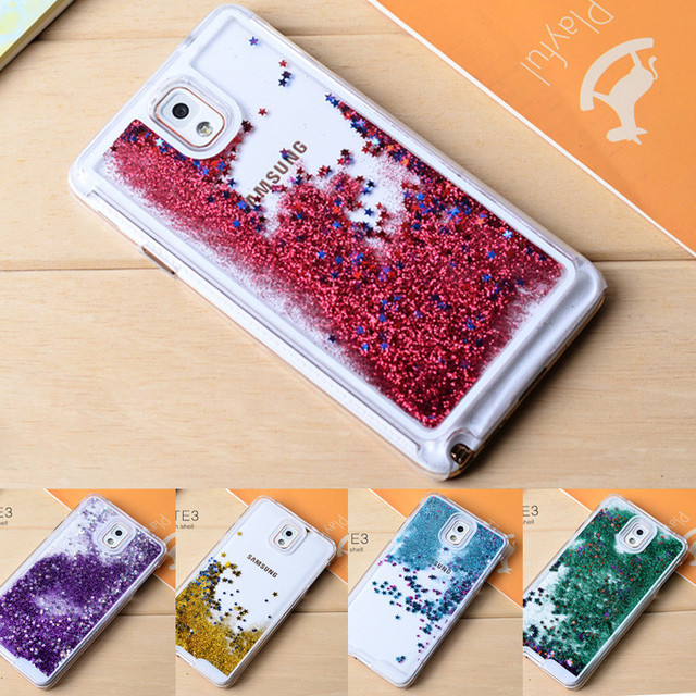 online store 8dc76 3425c US $3.9 |Note 3 Case Luxury Colorful Bling Case for Samsung Galaxy Note 3  Cover Liquid Glitter Sand Quicksand Star Hard Plastic Case on  Aliexpress.com ...