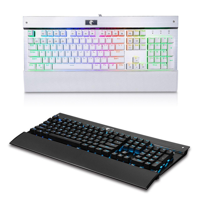 c971b1fb306 Element Mechanical Eagle Z-77 RGB LED Backlit Chroma Dimmable Mechanical  Gaming Keyboard 104 Buttons No Conflict Computer Games