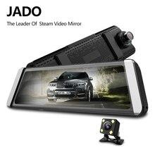 JADO D800s X4 Stream Rearview Mirror LDWS GPS Track 10 IPS Touch Screen Full HD 1080P Car Dvrs  Dash cam jado d800s x6 stream rearview mirror ldws gps track 10 ips touch screen full hd 1080p car dvrs dash cam