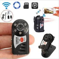 Wireless WIFI Q7 Mini Camera Video Camcorder Recorder Infrared Night Vision Secret Security