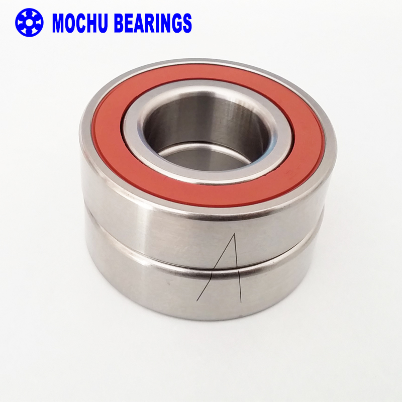 1 Pair MOCHU 7005 H7005CETA RZ P4 DB DT DF A 25x47x12 7005C Sealed Angular Contact Bearings Speed Spindle Bearings CNC ABEC-7