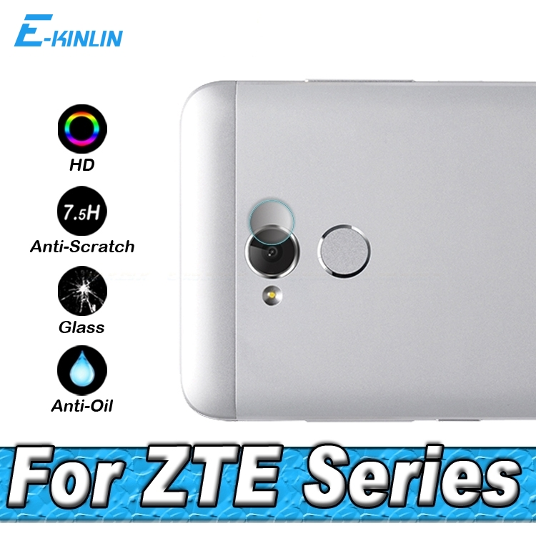 Back Camera Lens Protector Protective Film For ZTE Axon 7 mini Blade Tempo Go X Max XL A2 L5 Plus A520 Hawkeye Tempered Glass