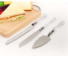 3PCS cake Knife set Wedding knife set cheese knife bread knife