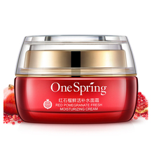 One Spring Red pomegranate day cream whitening Face Cream Hydrating Nourishing Skin Care Tender and Smooth anti aging
