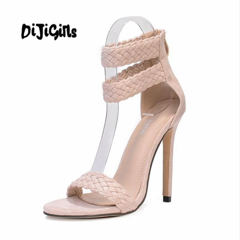 Women Wedding Sandals Ankle Strap Fashion Ladies Shoes Woman Open Toe Summer Sandals Women women sandals fashion straw shoes woman summer wedges sandals ankle strap casual ladies flat sandals
