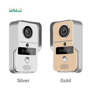 Image 2 - 720P TCP/IP WiFi Video Doorbell Support Wireless Unlock IOS Android APP Control Metal body exquisite design