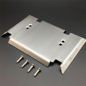 Image 3 - Full Set Metal Armor Plate Body Shell Protection Kits for 1/10 Gmade GOM GR01 RC Car OP Refit Parts