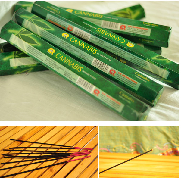 Cannabis Incense Sticks Handmade Dipped India Best Sale