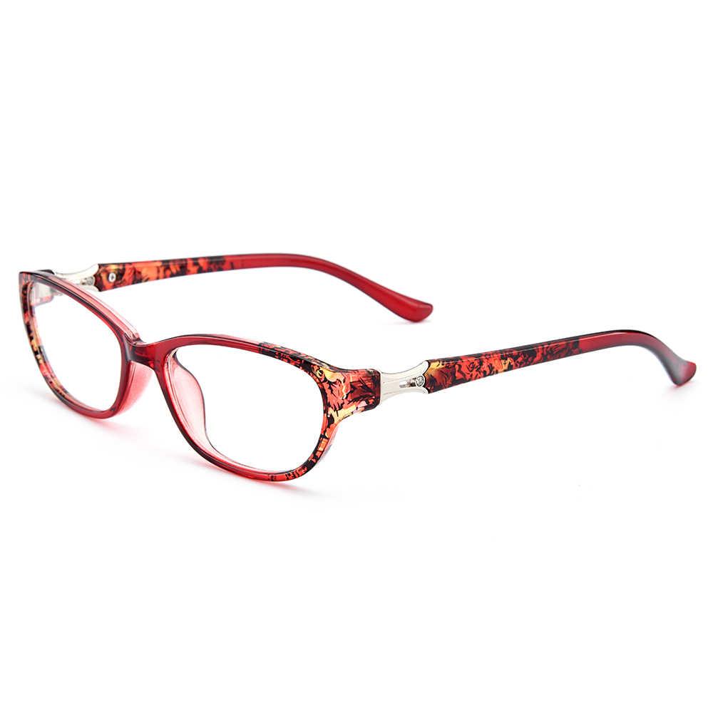 Gmei оптический Для женщин Стильный: ультралегкие TR90 очки полноразмерная оправа оптическая оправа для очков с принтом для маленьких девочек с рисунком в стиле довольно рамки M13122